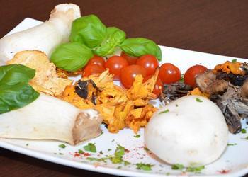 Pilze mit Gemüse